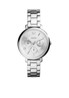 Fossil  Womens Stainless Steel Jacqueline Multifunction Watch