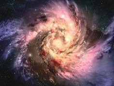 The beauty of the Universe.   Image by www.attunedvibrations.com
