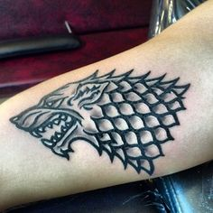 "You have the Stark seal of approval. | 27 Breathtakingly Badass ""Game Of Thrones"" Tattoos"