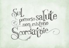 Tipography & Calligraphy by Veronica Ciceri, via Behance