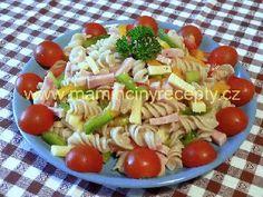 Neapolský salát Gnocchi, Salads, Soup, Yummy Food, Baking, Ethnic Recipes, Diet, Delicious Food, Bakken