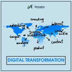 Digital transformation is like a miracle for business trends that provides a high customer reach and creates a brand awareness of a business. Looking for the best digital marketing agency in India? Then you visit Reliable Software Technology. S Mo, Digital Marketing Services, Creating A Brand, Software, India, Trends, Technology, Business, Tech