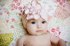 soft Ballet Pink Rose Stretch SNUGARS handmade headband by snugars, $32.00
