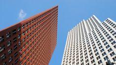 Preview wallpaper skyscrapers, buildings, sky 3840x2160