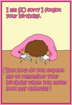 31 Happy Belated Birthday Wishes with Images - My Happy Birthday Wishes Cute Birthday Wishes, Belated Birthday Card, Late Birthday, Happy Birthday Quotes, Happy Birthday Images, Happy Birthday Greetings, Birthday Messages, Birthday Humorous, Birthday Cartoon