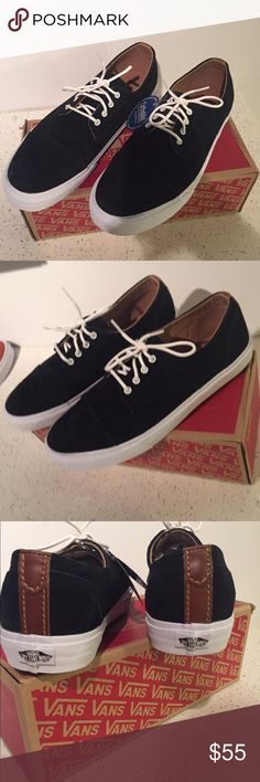 Men's brand-new black vans Men's size 11.5 in perfect condition still with original tags! Vans Shoes Sneakers