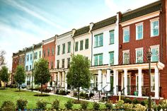 brick courtyard townhouse architecture - Google Search