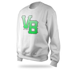 VB Crewneck - White - $20 (Sale)