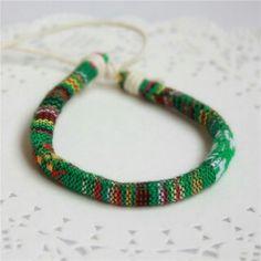 0,20€ bracelet ethnique en tissu