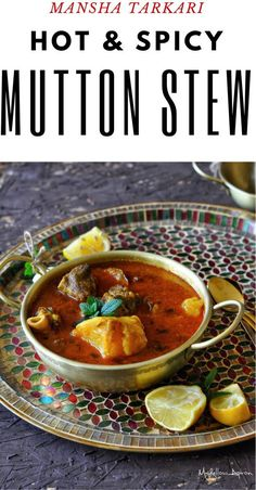 This Mutton Potato Stew or Mangsha Aloo Tarkari is perfect for cold winter night or breezy fall evenings. The red hot spicy gravy, big chunks of potatoes and succulent meat in bones scream nothing but comfort.