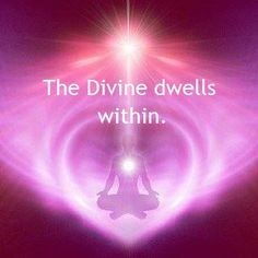 The divine dwells within ✨✨✨✨