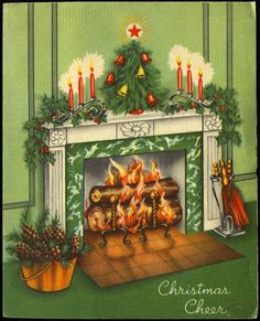 Images Vintage, Photo Vintage, Vintage Christmas Images, Retro Christmas, Vintage Holiday, Christmas Pictures, Vintage Cards, Old Time Christmas, Old Fashioned Christmas