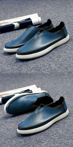 Compre aqui   Prelesty Marca Cavalheiro Retro Exótico Do Vintage Homens  Sapatos Casuais 3af60a6421
