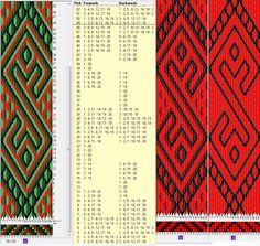 20 tarjetas, 4 /3 /2 colores , completa dibujo en 48 movimientos // sed_283 diseñado en GTT༺❁