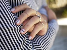 Nail art that's actually achievable by mere mortals with lacquer...
