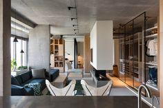 Ukraine Penthouse Apartment interior