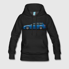 This Audi RS 4 Avant B5 designcomes via Monkey Crisis on Marson the SpreadShirtplatform.That this is Spreadshirtmeans the design can be had on a range of colors and styles of apparel, in addition to mugs, phone cases and more.<em>-George@ChoiceGear</em>