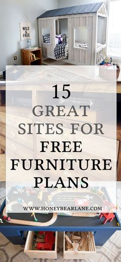 Exceptionnel 15 Awesome Sites For Free Furniture Building Plans