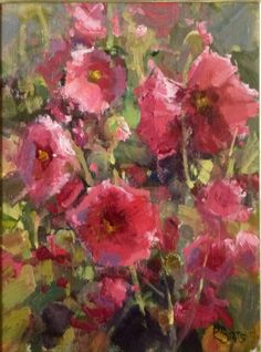❀ Blooming Brushwork ❀ - garden and still life flower paintings - Kathryn Stats | Summer Flowers
