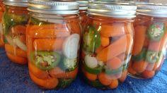 Sevillian Carrots, Zanahorías Aliñadas, Marinated Carrots, Pickled Carrots…
