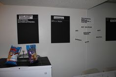 """Cards Against Humanity Party - Large cards against humanity boards w/ Velcro """"white cards"""" that can be changed"""
