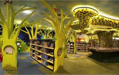 my-tree-house : the world's 1st green library for kids in Singapore.