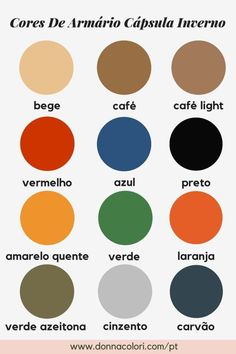 How To Create a Capsule Wardrobe + Free Planner - Donna Colori Minimalist Closet, Minimalist Fashion, Minimalist Style, Minimalist Living, Green And Orange, Red And Blue, Seasonal Color Analysis, Find Color, Winter Colors