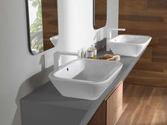 The basin tends to be one of the main features of any bathroom. Whether combined with furniture or a stand-alone element, its functionality is vital to our daily beauty and hygiene rituals.