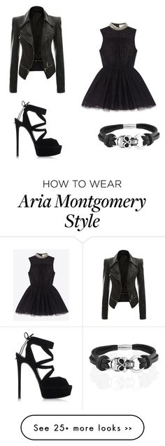 """""""Pretty Little Liars - Aria Montgomery"""" by leandra-novaes on Polyvore"""