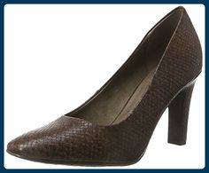 Tamaris 22121, Zapatos de Tacón para Mujer, Marrón (Antelope), 36 EU