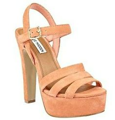 Steve Madden DAYGLOW Coral Suede Design works No.541 |2013 Fashion High Heels|