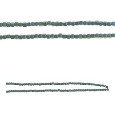"""Bead Gallery® Cube Hematite Beads, Aqua - Item # 10393307 - $5.99    Make beaded butterflies, flowers, stars and other such DIY decor accents with these Bead Gallery cube hematite beads. You can also use these beads to craft jewelry, such as earrings, bracelets, anklets and necklaces.     Details: Aqua; 3 mm bead size; 8.5"""" string; Hematite"""