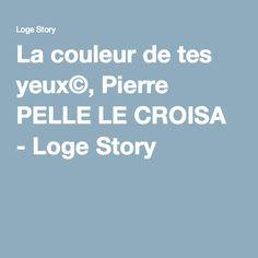 La couleur de tes yeux©, Pierre PELLE LE CROISA - Loge Story