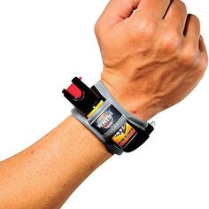 Camping Bear Protection Products - Pepper Spray for Runners  Joggers  Walking  Hiking  Lightweight Wristband with LED Light  Emergency Id Card  Reflective Material  Women  Mens Safety Bracelet  Personal Self Defense Running Protection  Wrist Saver Black Orange Model * Click on the image for additional details.
