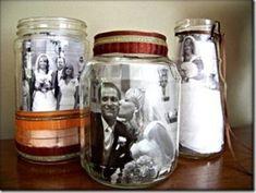 結婚式装飾_瓶の中に写真3