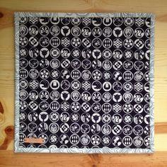salty oat: quilt studio and fabric shop: sashiko mini quilt