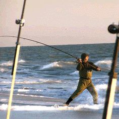 Surf Fishing Casting