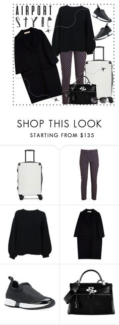 """""""Let's travel"""" by krista-zou on Polyvore featuring CalPak, Dondup, Helmut Lang, Marni, Armani Jeans, Hermès and BP."""