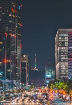 Seoul Fashion, Seoul Wallpaper, City Wallpaper, Travel Wallpaper, Seoul Photography, South Korea Photography, Aesthetic Korea, City Aesthetic, Seoul Café