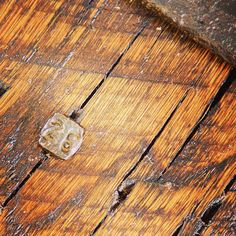 #salvaged #steel #26 #railroad #date #nail from #1926 in #reclaimed #timber