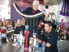Carnival Court Bar - Las Vegas  By far one of my favorite places in Vegas!  So fun!!!!!!  Every time I've gone there over the years I've had a blast.