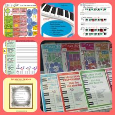 Learn piano in color When You Can, Board Games, Make It Simple, Piano, Musicals, Teacher, Learning, Color, Professor