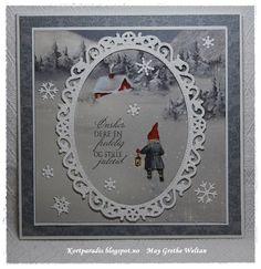 Kortparadis Kortpardis.blogspot.com Kort Card Håndlaget Handmade Homemade Scrapping Kortscrapping NorthStarDesign NSD snow christmas jul julekort Pion stempel stempler stamp