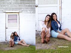 Sisters  #fashion #sisters #photography #bestfriends