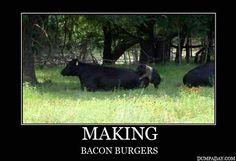 how to make bacon cheeseburgers