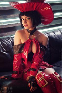 Guilty Gear I-No Cosplay by AlexReiss.deviantart.com on @DeviantArt - More at https://pinterest.com/supergirlsart #hot #sexy #cosplay #girl #cosplaygirl