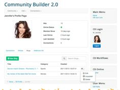 Der komplett neue Community Builder 2.0 - Joomla!Info