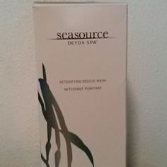 Arbonne Seasource Detox Spa 16oz Detoxifying Rescue Wash Other