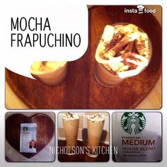 Starbucks mocha frapuchino homemade