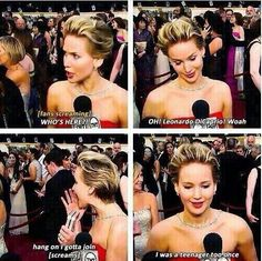 Jennifer Lawrence, funny moment.